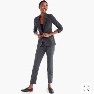 J. Crew Parke Gray Italian Wool 2-Way Stretch Suit